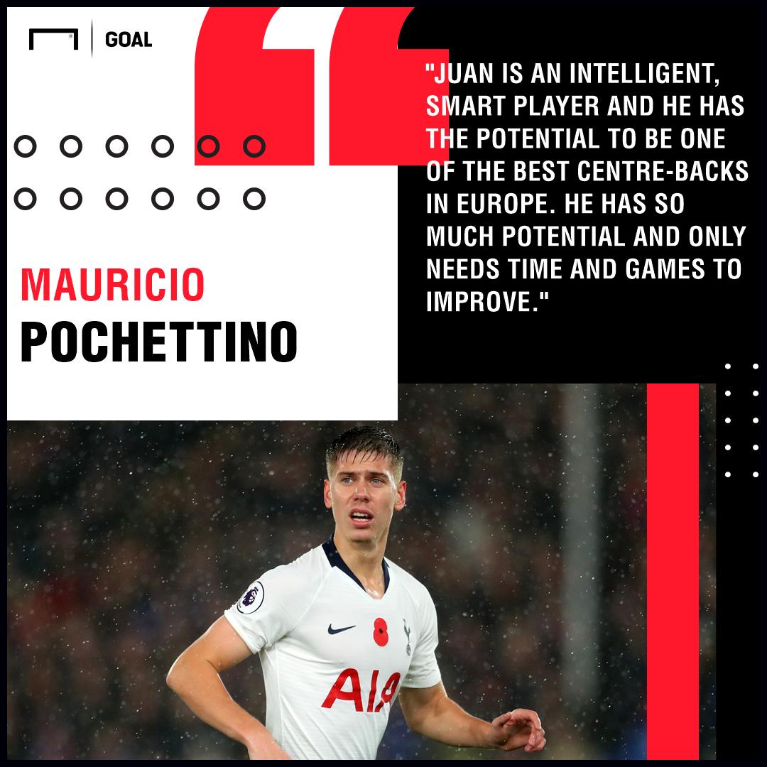 Juan Foyth Pochettino Tottenham PS