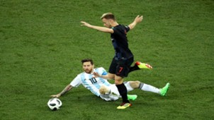 croatia argentina - ivan rakitic lionel messi - world cup - 21062018
