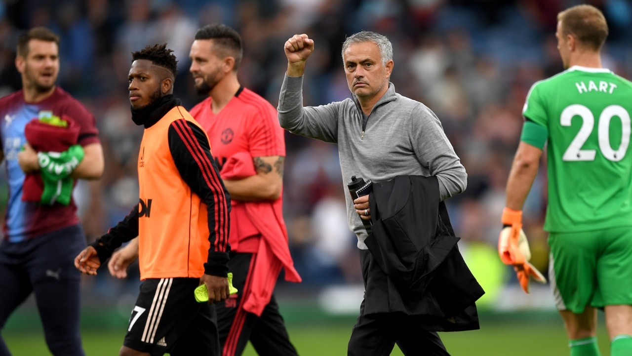 Image result for fred and mourinho