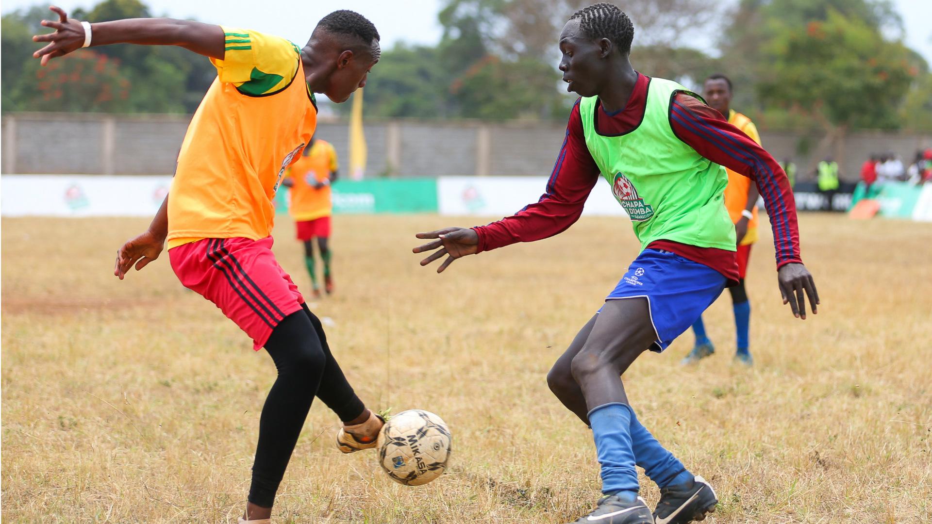 Chapa Dimba na Safaricom action.