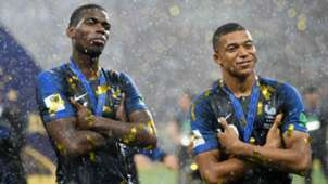 Kylian Mbappe Paul Pogba France WC 2018