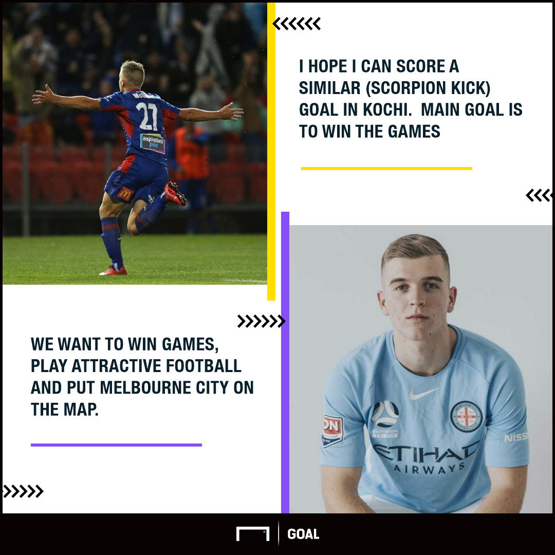 Melbourne City players GFX