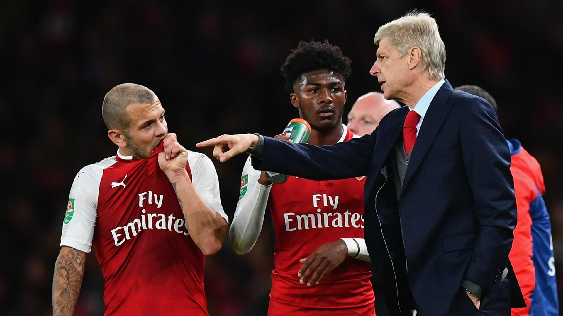 Jack Wilshere Arsene Wenger Arsenal