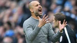 Pep Guardiola Manchester City Manchester United Premier League