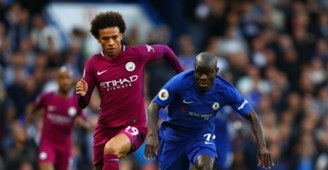 Leroy Sane N'golo Kante Chelsea Manchester City