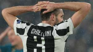 Giorgio Chiellini Juventus Real Madrid UEFA Champions League 04032018