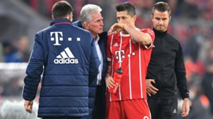 Jupp Heynckes Robert Lewandowski FC Bayern 28102017