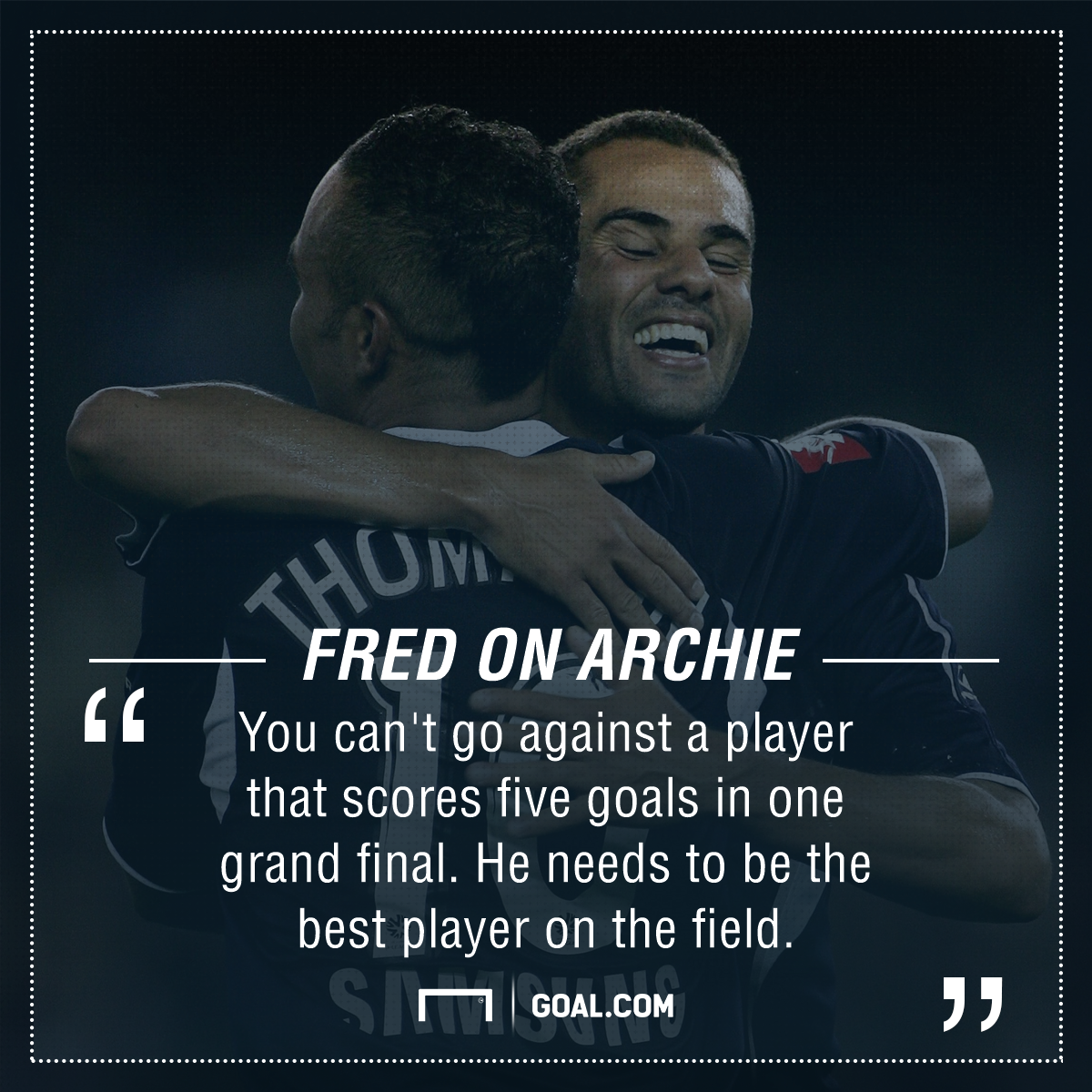 GFX Fred Quote Archie Thompson
