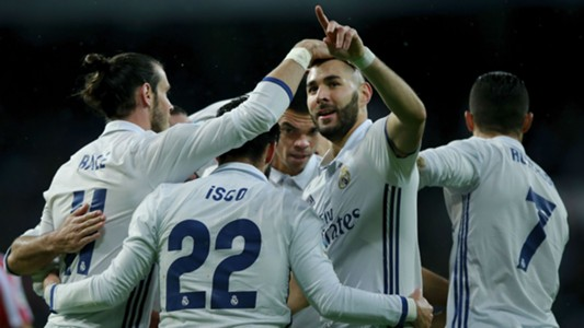 Karim Benzema Gareth Bale Cristiano Ronaldo Isco Real Madrid
