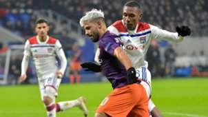 Sergio Aguero Manchester City Lyon Champions League 27112018
