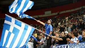 Greek fans Greece