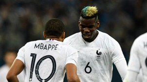 Kylian Mbappe Paul Pogba France