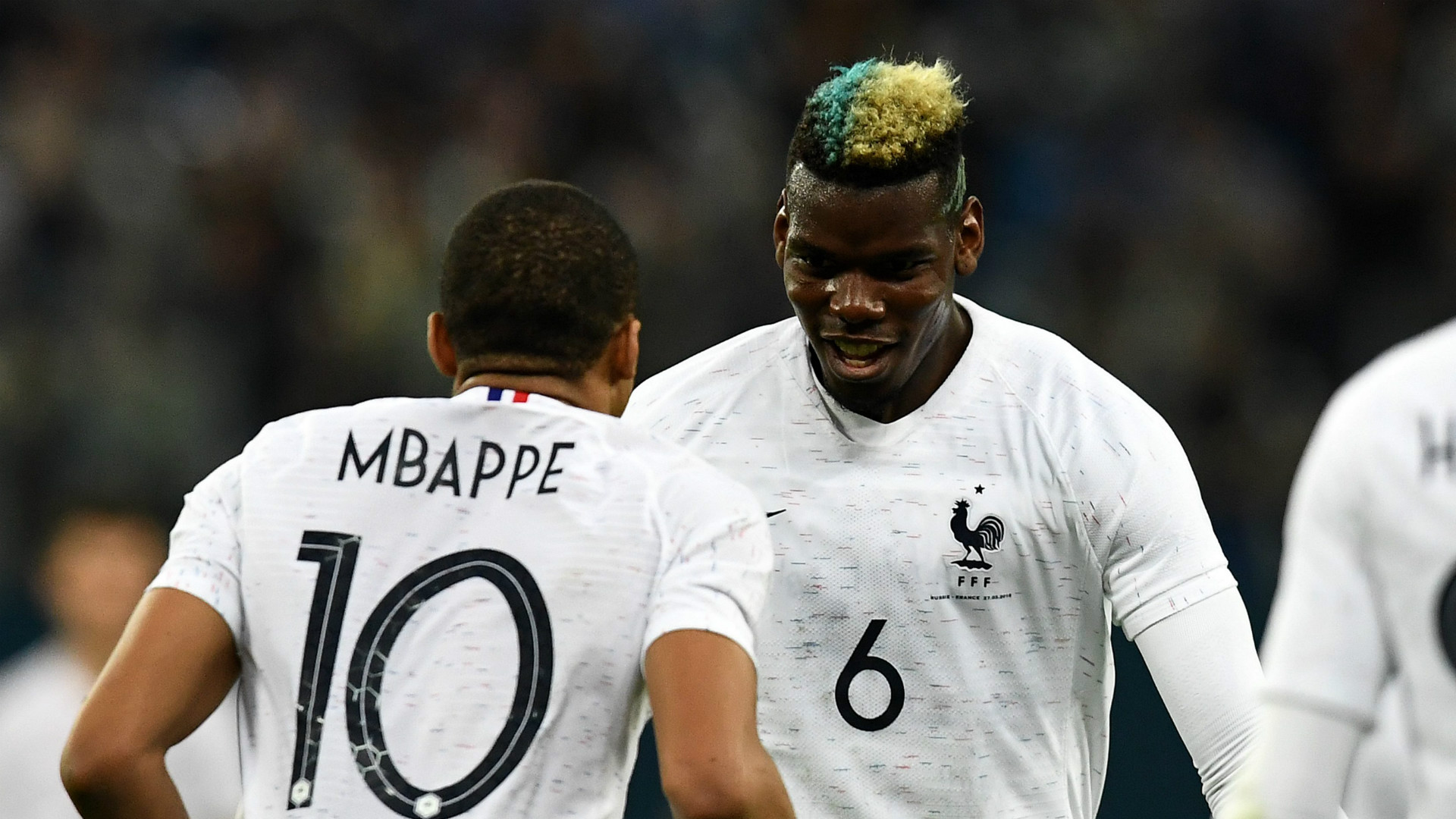 Kylian Mbappe Paul Pogba France