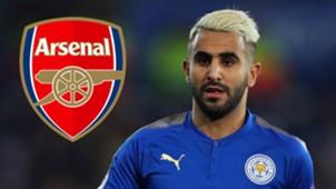 Riyad Mahrez Arsenal
