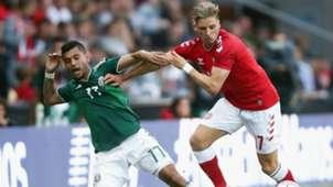 Jesus Manuel Corona Jens Styger Larsen Denmark Mexico international friendly 2018