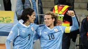 Diego Forlán & Edinson Cavai Uruguay