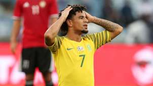 Keagan Dolly Bafana Bafana v Libya, September 2018