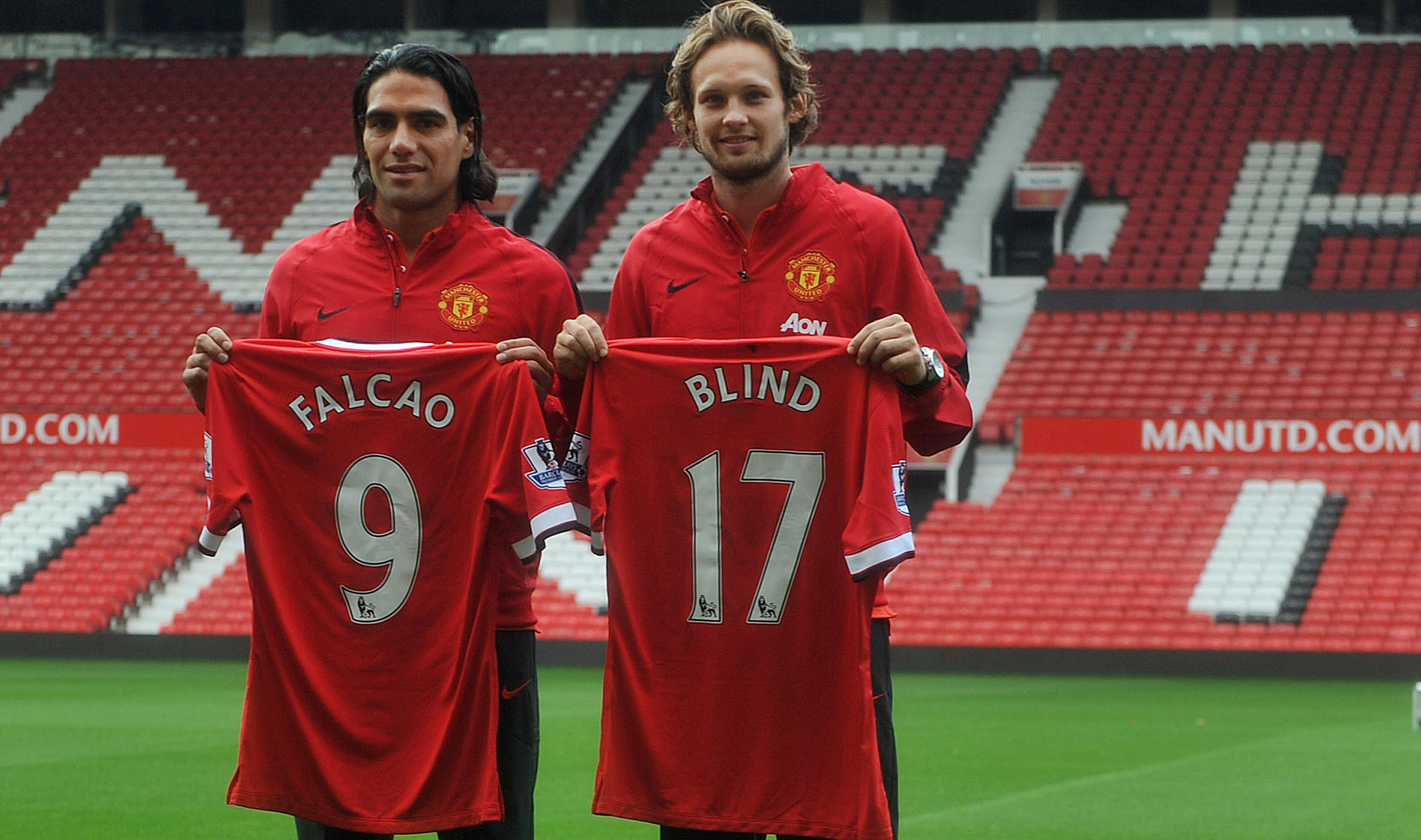 Manchester United signing Falco and Blind