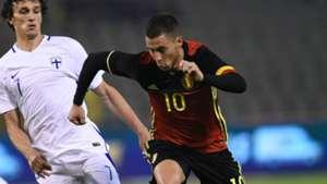 Eden Hazard Belgium Finland 06012016