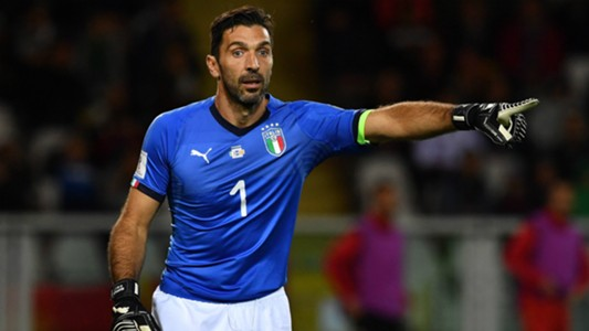 Gianluigi Buffon Italy European Qualifiers