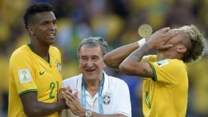 Jô Parreira Neymar Seleção Brasileira Copa do Mundo 2014