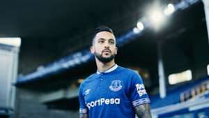 Everton home kit 2018-19