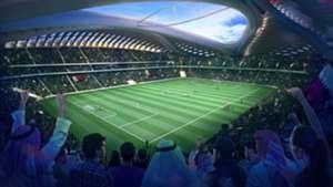 Qatar Stadium relay
