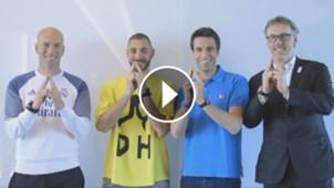 GFX VID Zidane Benzema Blanc