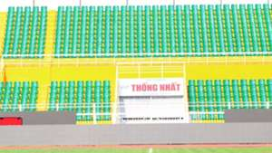 Khán đài sân Thống Nhất V.League 2018