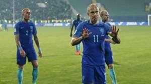 Rick Karsdorp, Arjen Robben, Bulgarije - Nederland, 27032017