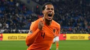 Van Dijk Netherlands Germany