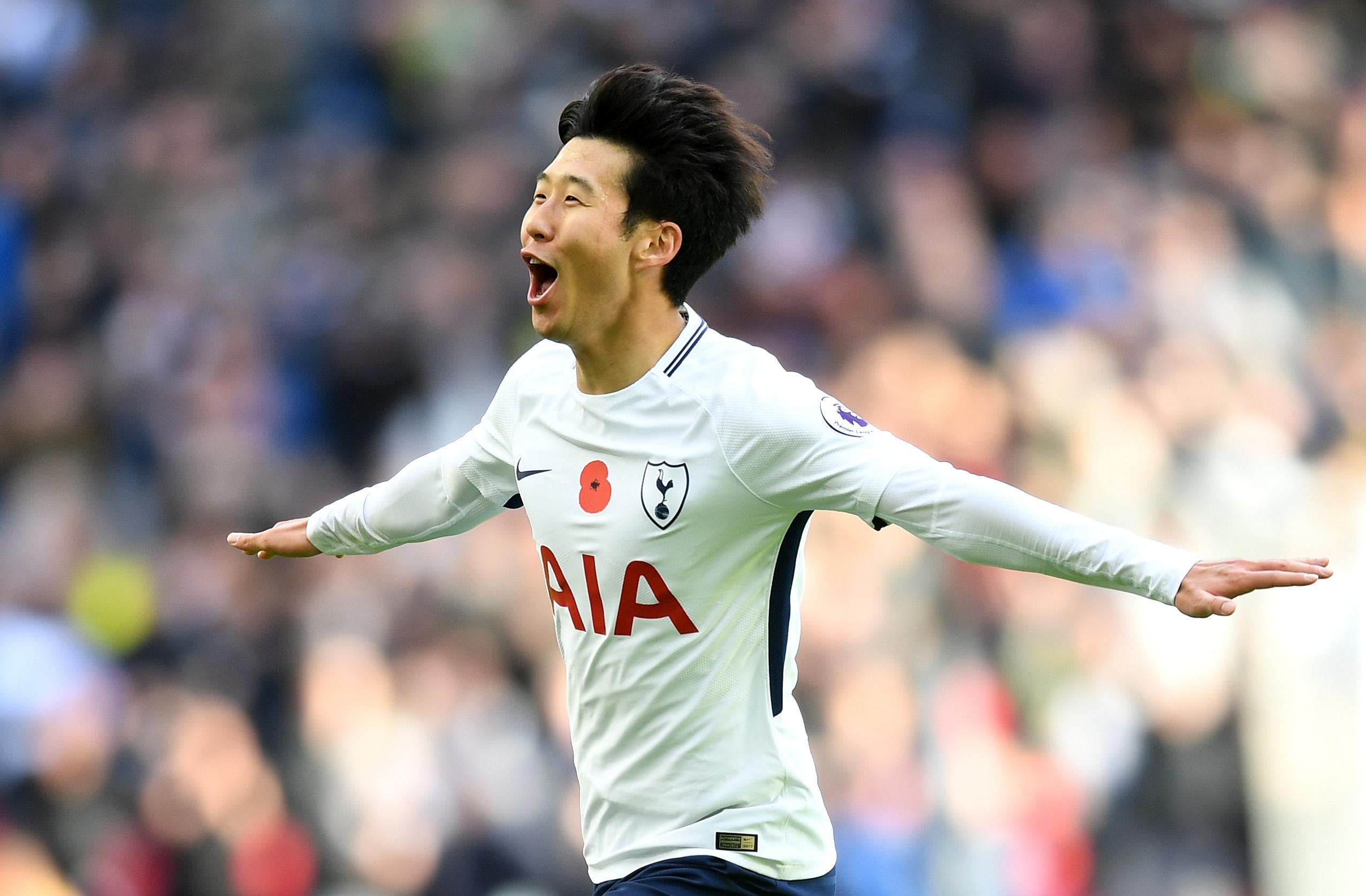Heung Min Son Tottenham Hotspur Crystal Palace 11/05/17