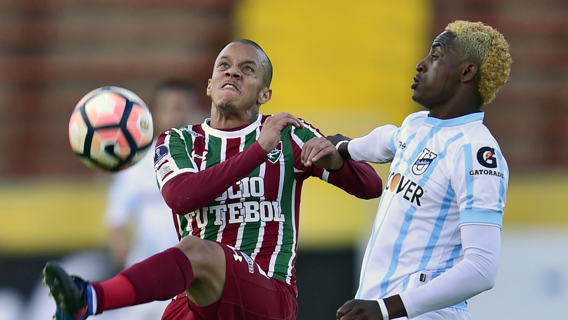 Marcos Junior Wilmer Meneses Uni Catolica-ECU Fluminense Copa Sudamericana 26072017