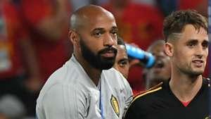Thierry Henry Adnan Januzaj Belguim World Cup