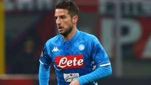 Dries Mertens Milan Napoli Serie A