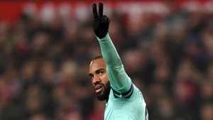 Alexandre Lacazette Man Utd vs Arsenal Premier League 2018-19