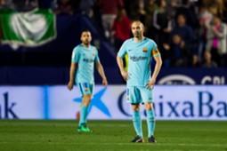 Iniesta Barcelona Levante LaLiga