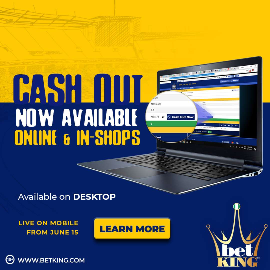 BetKing launches 100% welcome bonus, cash-out online   Goal com