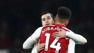 Pierre-Emerick Aubameyang Henrikh Mkhitaryan Arsenal