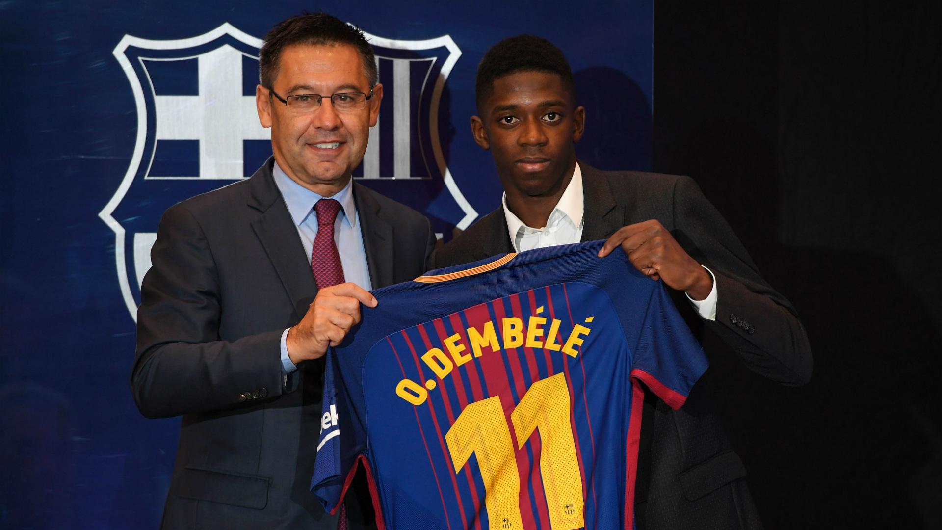 Ousmane Dembele Barcelona 2017