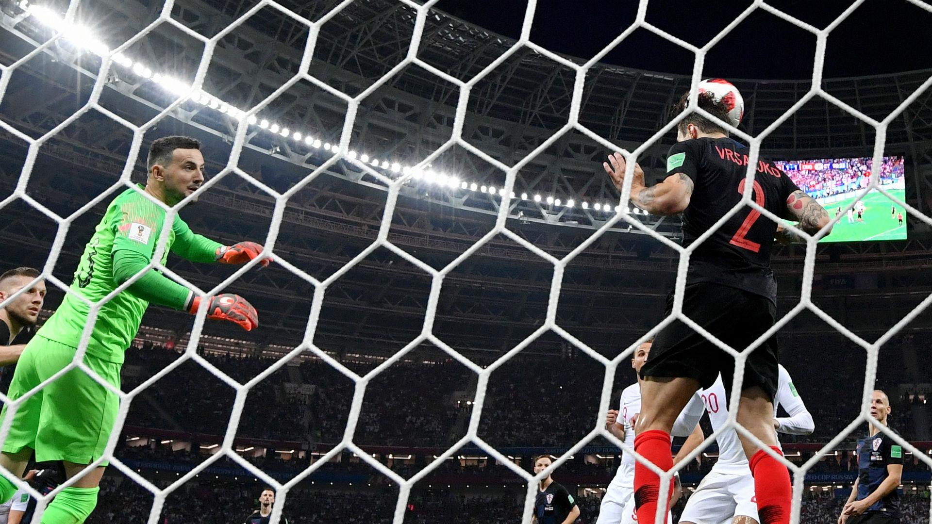 Vrsaljko Inglaterra Croácia Copa do Mundo 11 07 2018