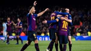 Barcelona Suarez Dembele Messi Alba