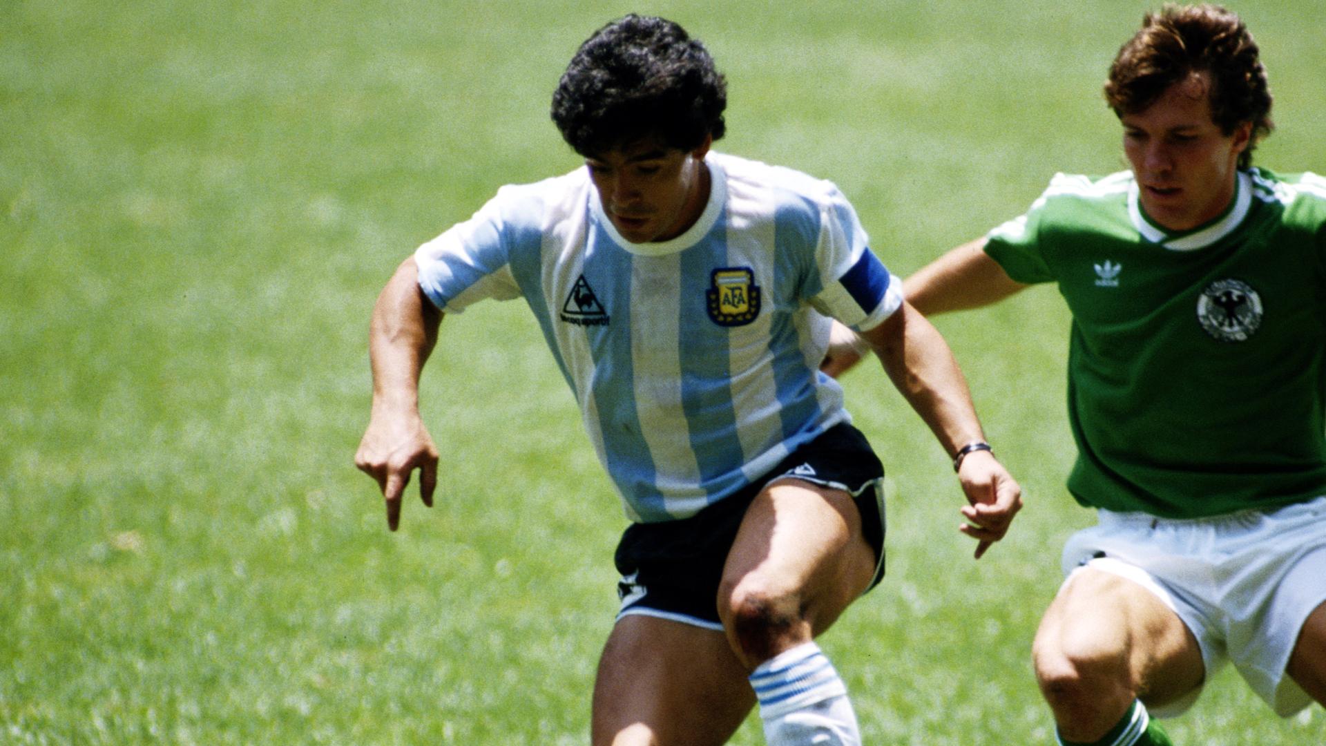 Diego Maradona Argentina Germany World Cup 06291986