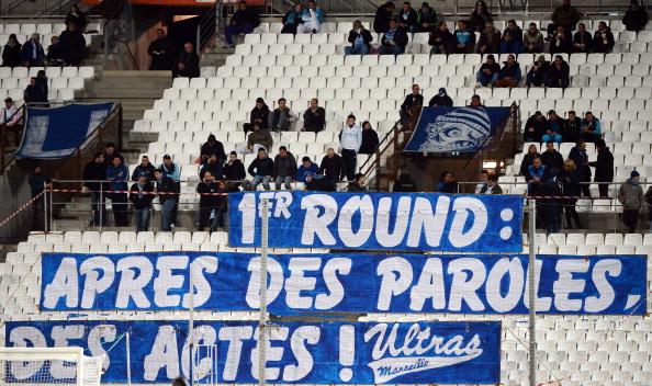 Marseille fans Ligue 1