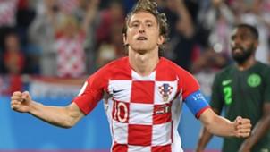 croatia nigeria - luka modric - world cup -16062018