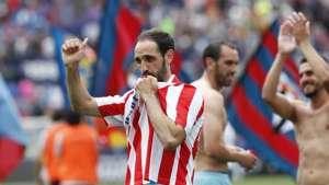 Juanfran Godin Atletico Madrid