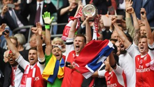 Per Mertesacker Arsenal Chelsea FA Cup final