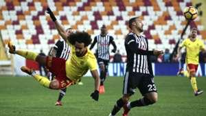 Sadik Ciftpinar Cenk Tosun Yeni Malatyaspor Besiktas 11252017