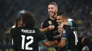 Casemiro Sergio Ramos Real Madrid 08082017