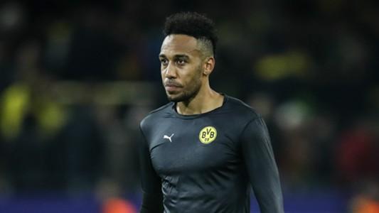 Pierre-Emerick Aubameyang Borussia Dortmund 21102017